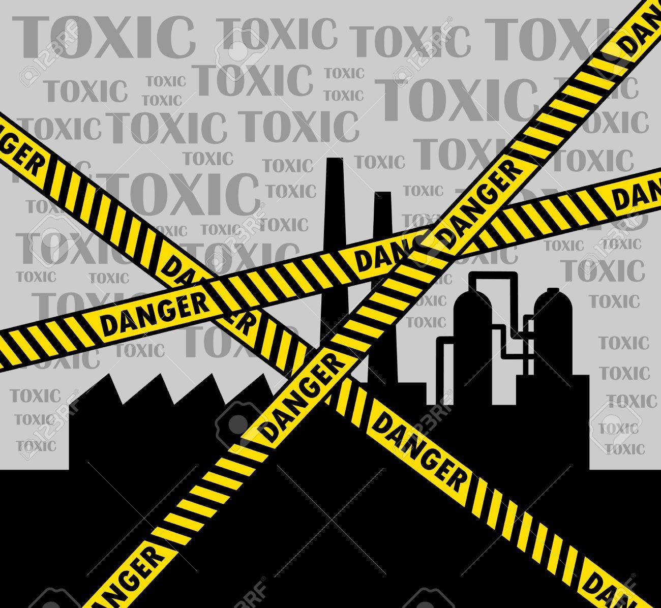 Toxic factory Stock Vector - 14438377