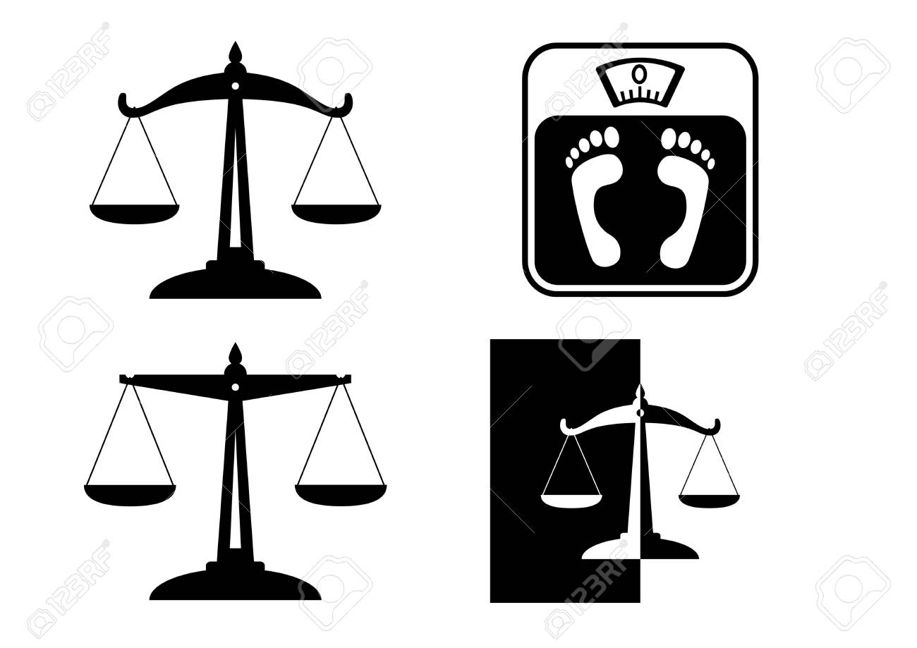 Scale icons Stock Vector - 16493387