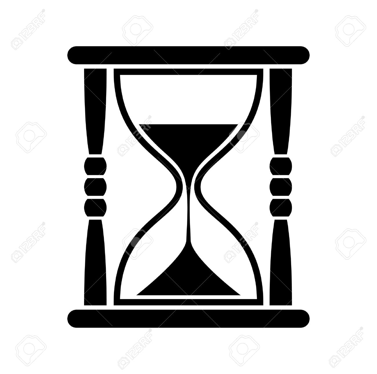 Hourglass icon  Hourglass Icon Royalty Free Cliparts, Vectors, And Stock ...