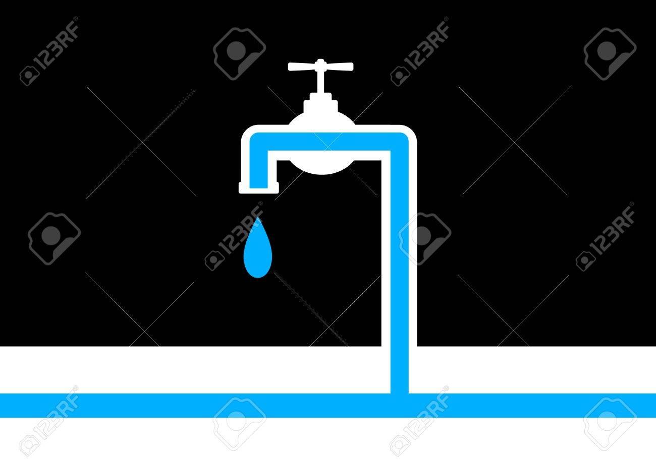 Water tap Stock Vector - 17467257