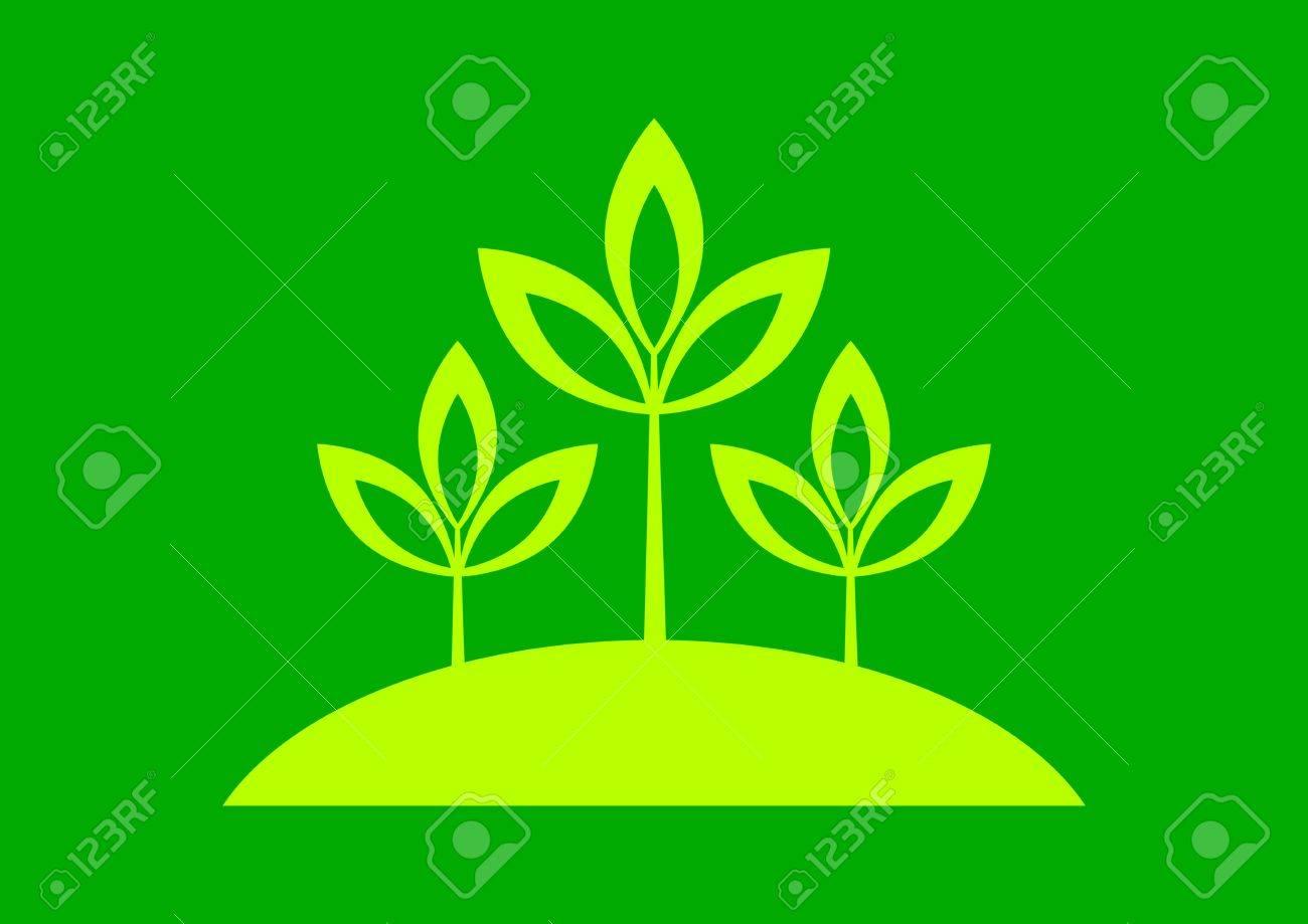 Plant icon Stock Vector - 17536809