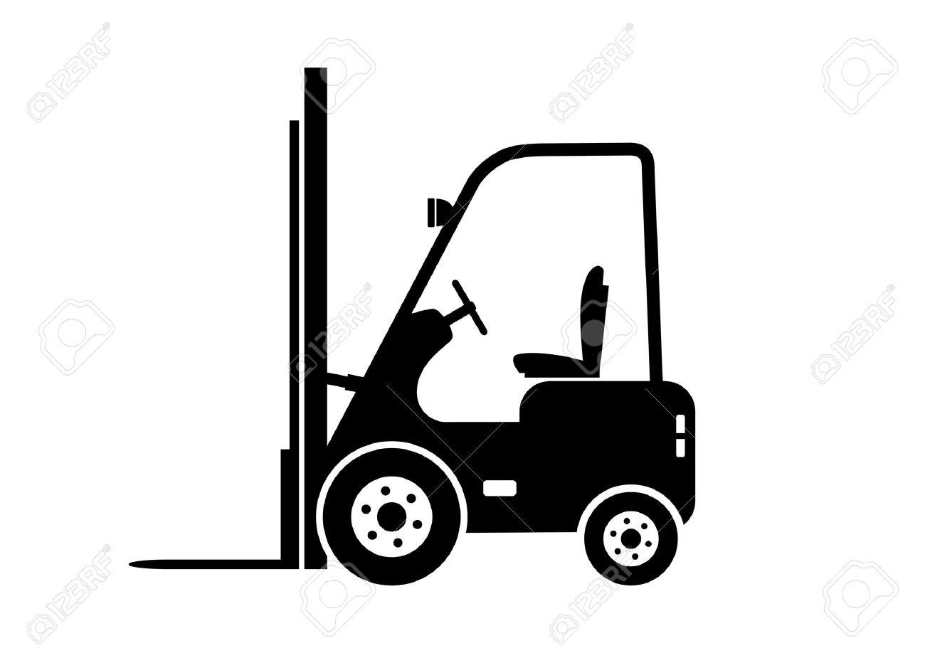 Lift truck icon - 18232320