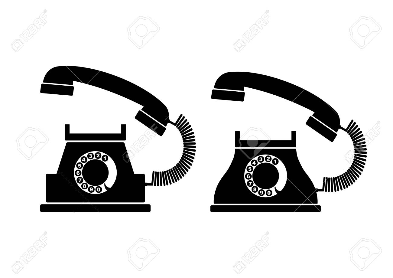 Telephone icons Stock Vector - 18647006