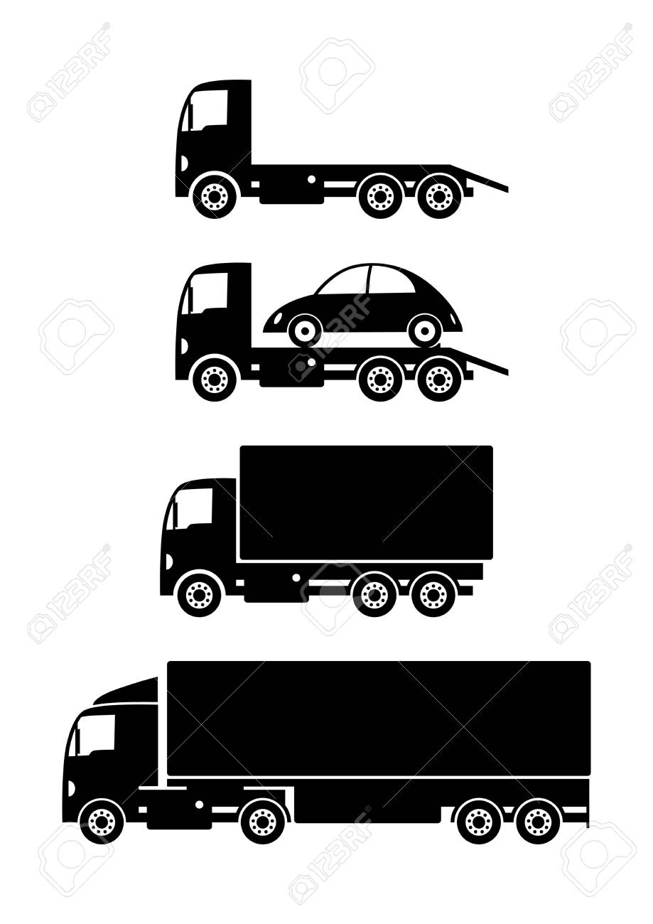 Truck collection Stock Vector - 18717216