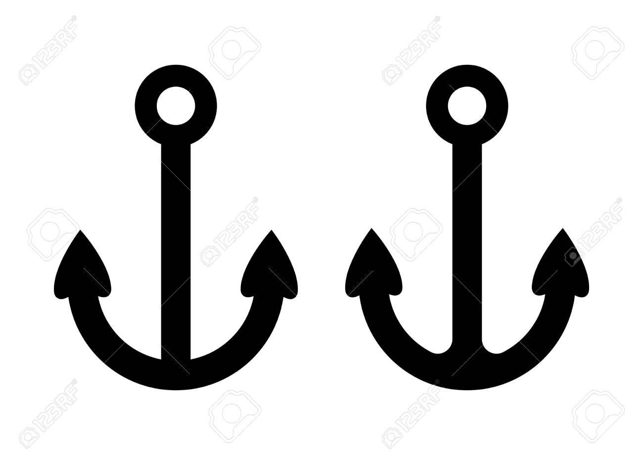 Anchor icons Stock Vector - 19097117