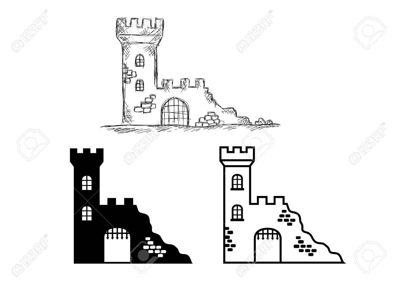 Castle ruins - 22346621