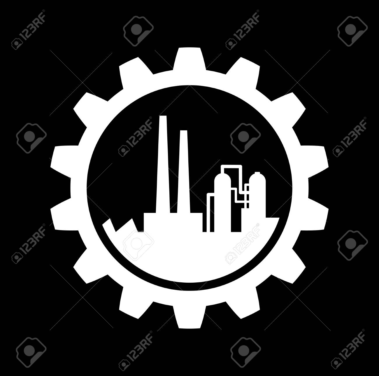 Industrial icon Stock Vector - 22786040