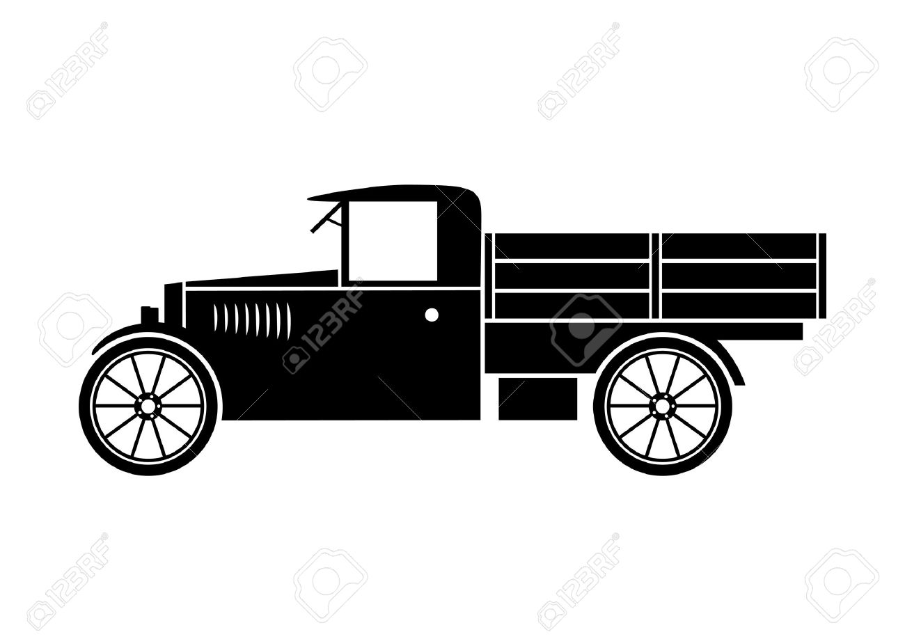 old truck royalty free cliparts vectors and stock illustration rh 123rf com