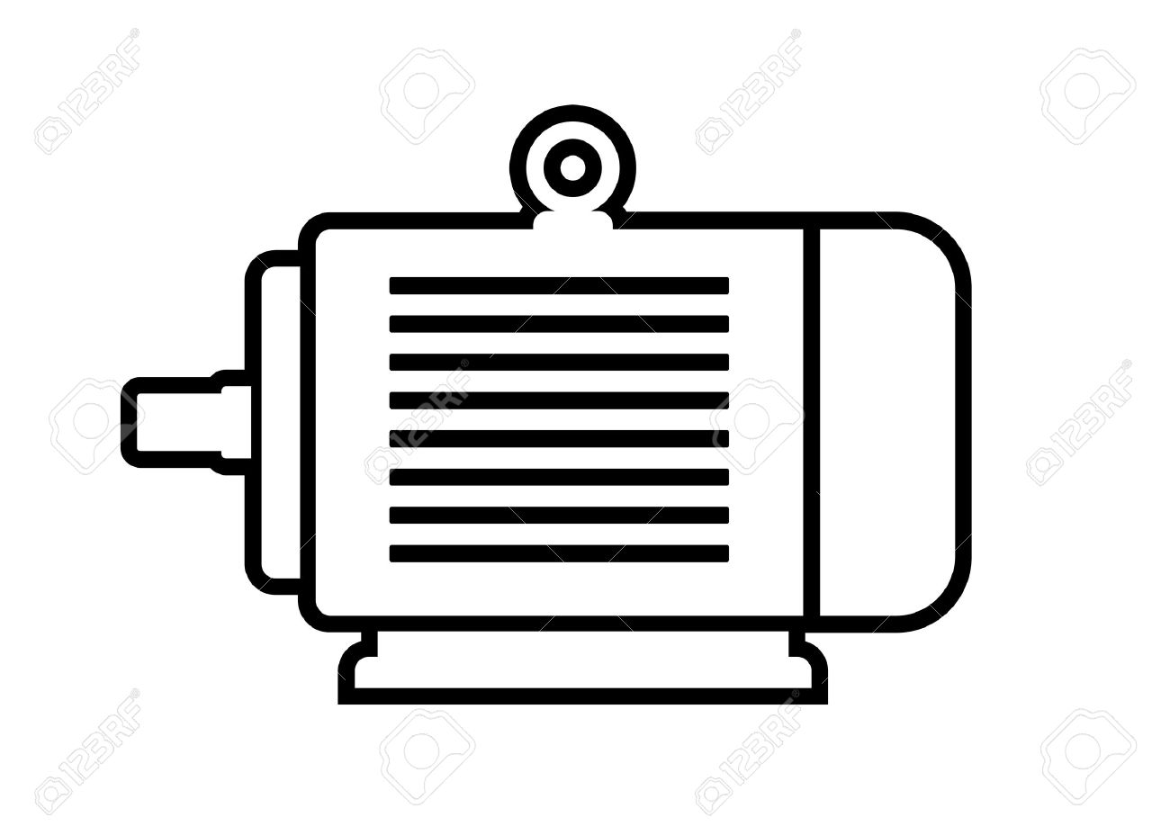 12,308 Electric Motor Stock Vector Illustration And Royalty Free ...