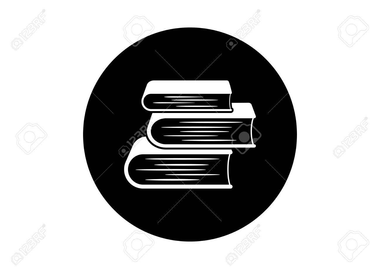 Schwarz auf weißem Buch