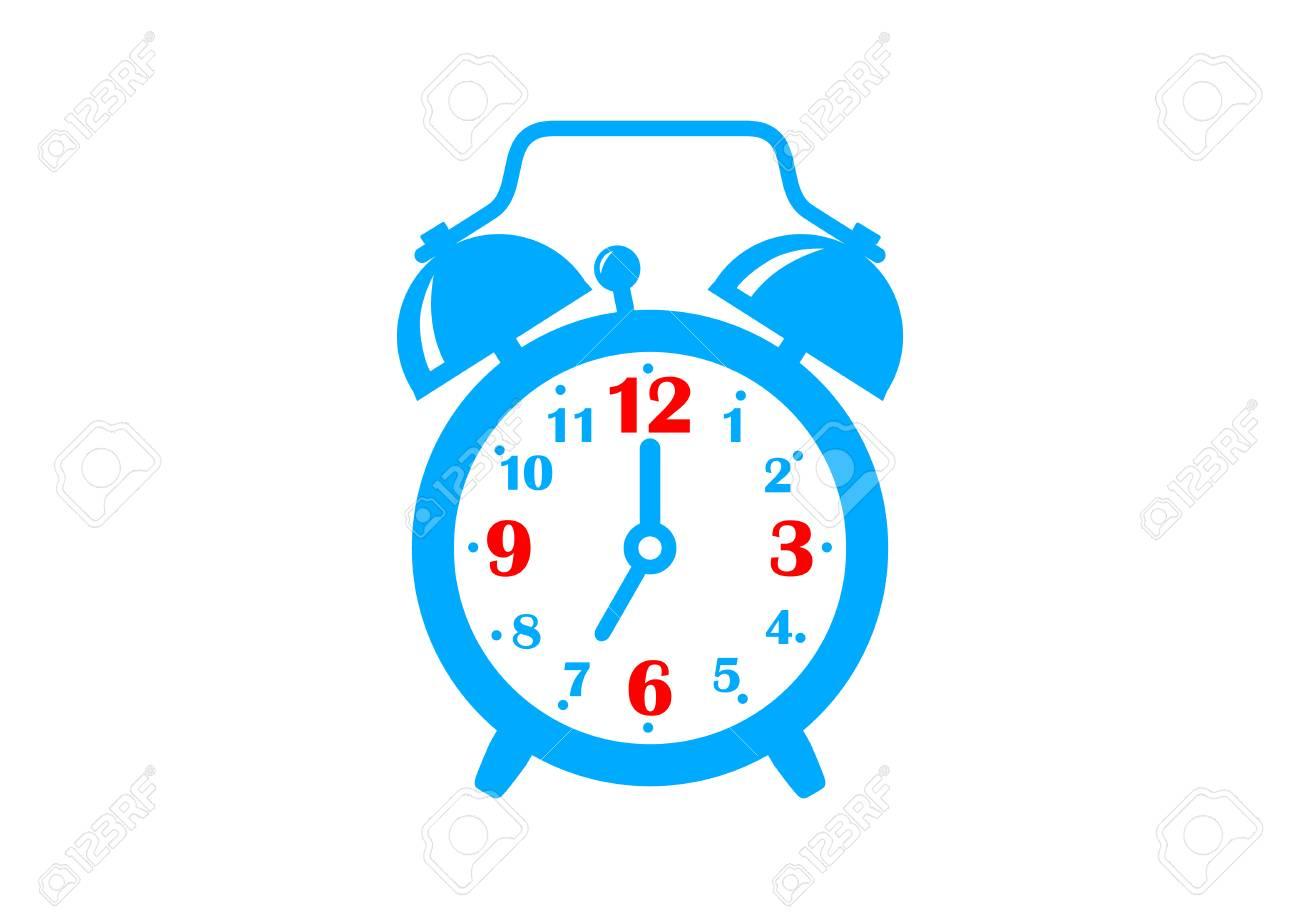 Alarm clock icon on white background - 51642093