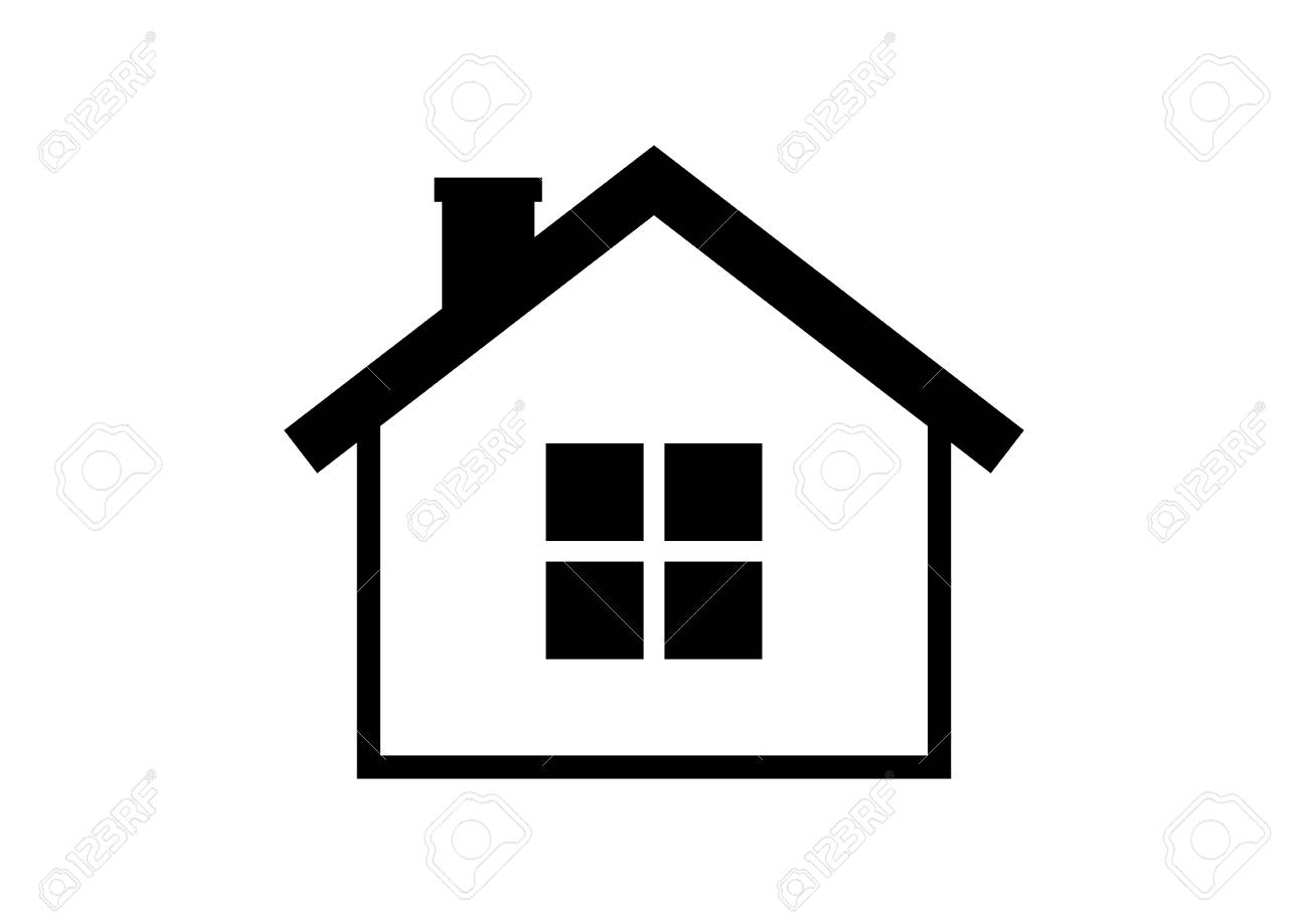 house icon on white background royalty free cliparts vectors and rh 123rf com home icon vector home icon vector png