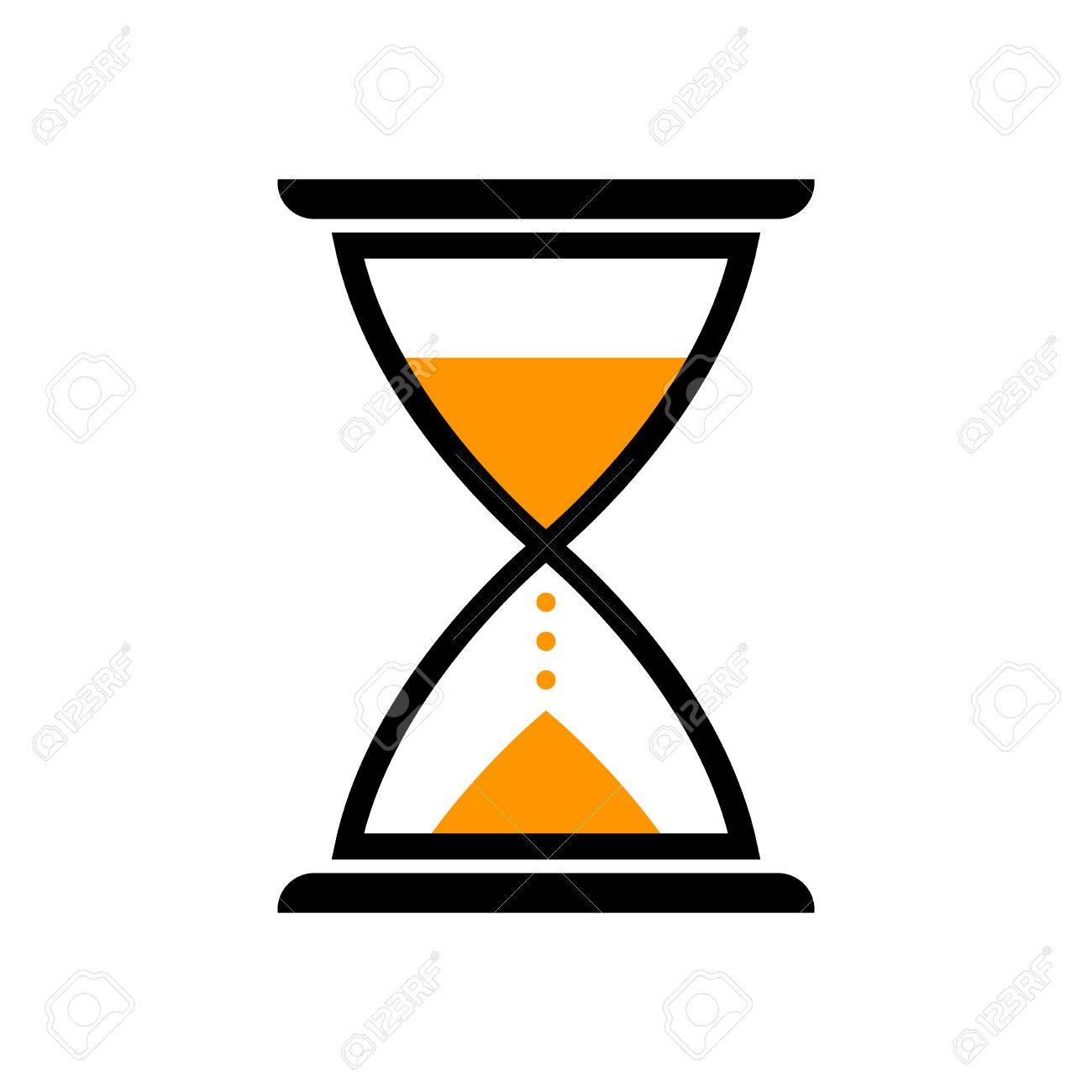 hourglass vector icon isolated object on white background royalty rh 123rf com hourglass vector graphic free hourglass vector graphic free