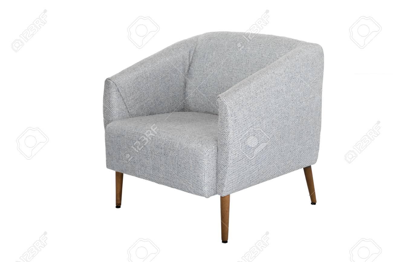 photo armchair modern designer chair on white background texture chair