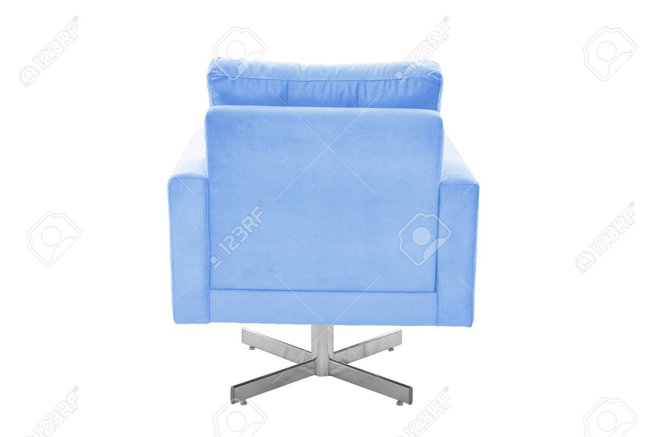 photo color armchair modern designer chair on white background texture chair