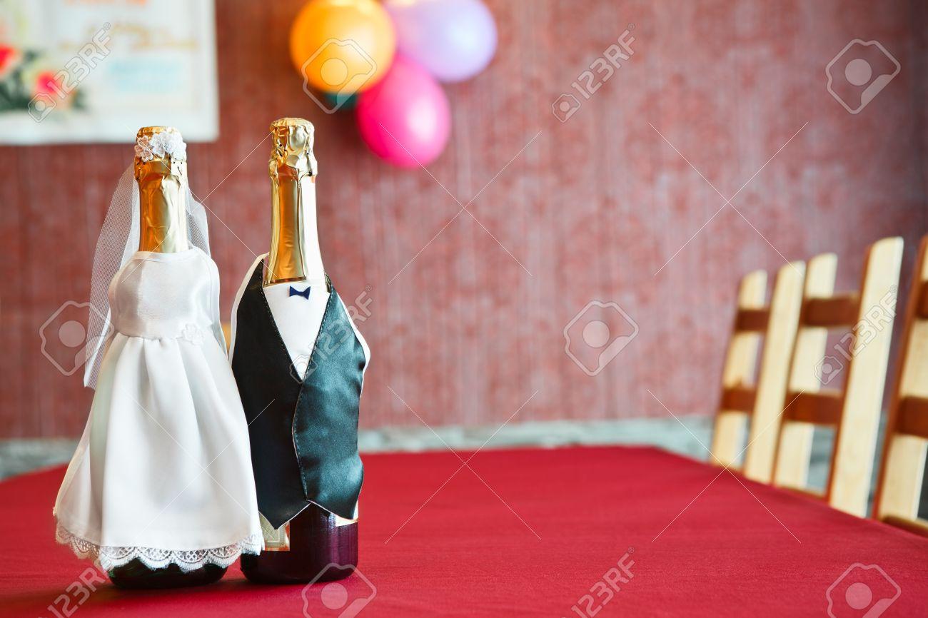 Imagenes De Botellas Decoradas Para Boda. Copas Y Botellas Para Tu ...