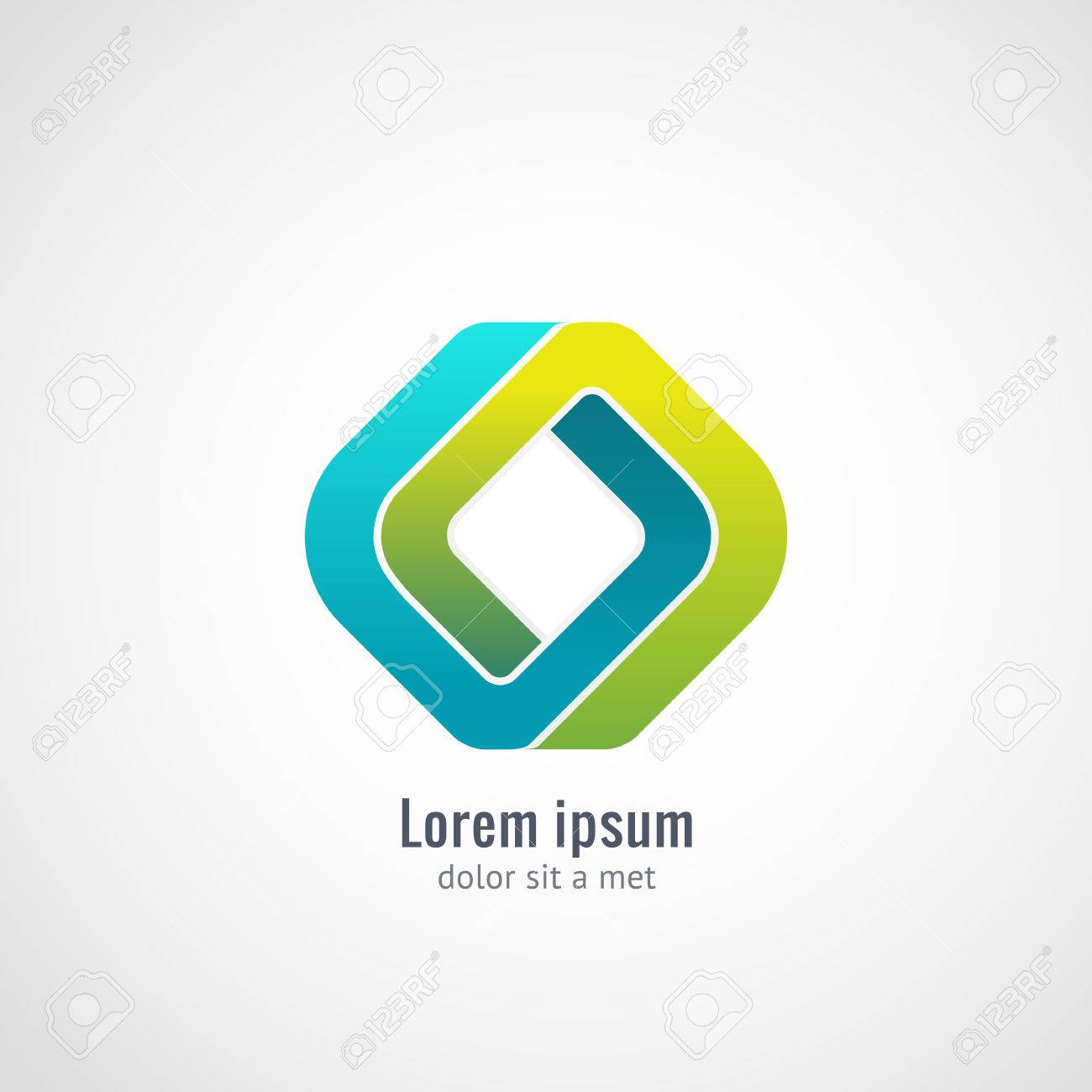 Vector graphic design business logo - Corporate Media Technology Ecology Styles Vector Logo Design Template Infinite Looped Shape