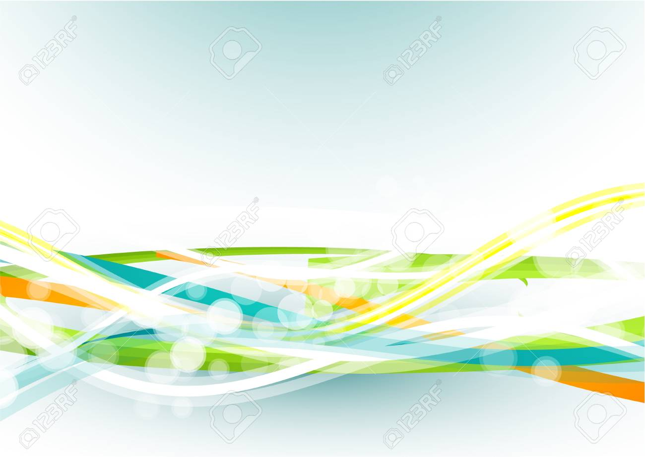 Abstract lines Stock Vector - 9839905
