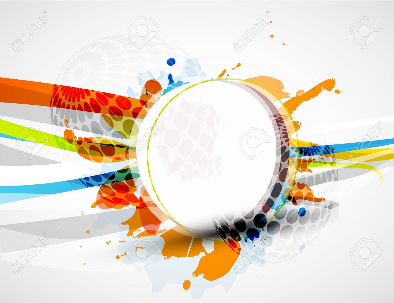 Vector abstract colorful background Stock Photo - 9840109