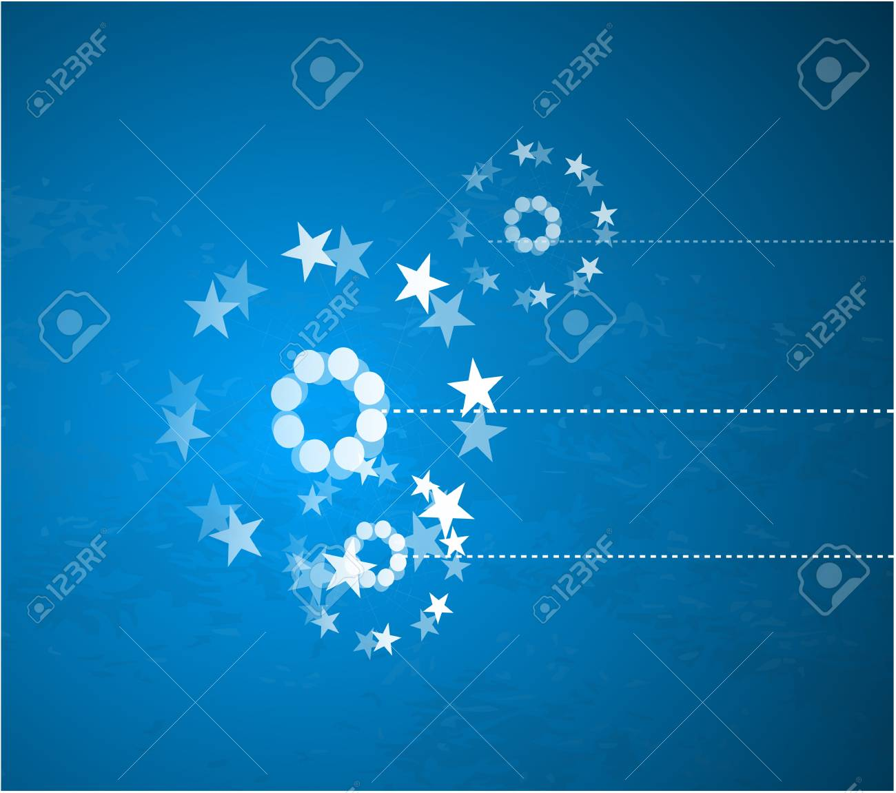 Blue Christmas background Stock Vector - 9933867