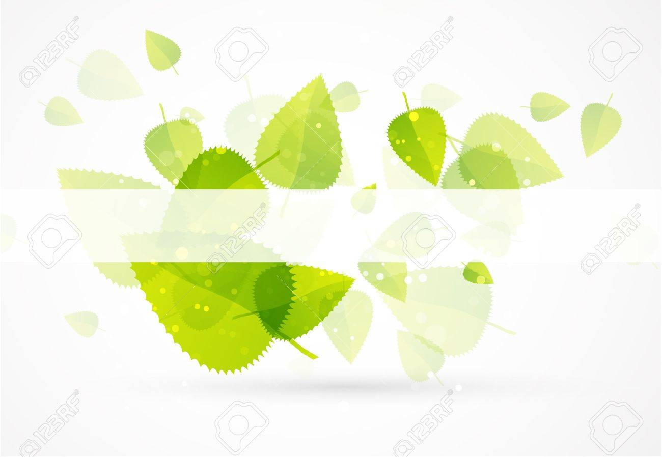 Leaf abstract background Stock Vector - 10090610