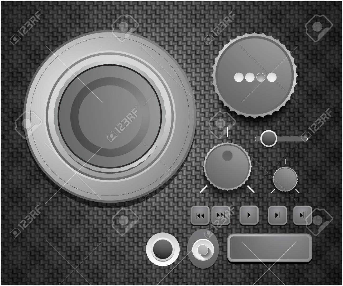 Vector user interface collection Stock Photo - 10455550