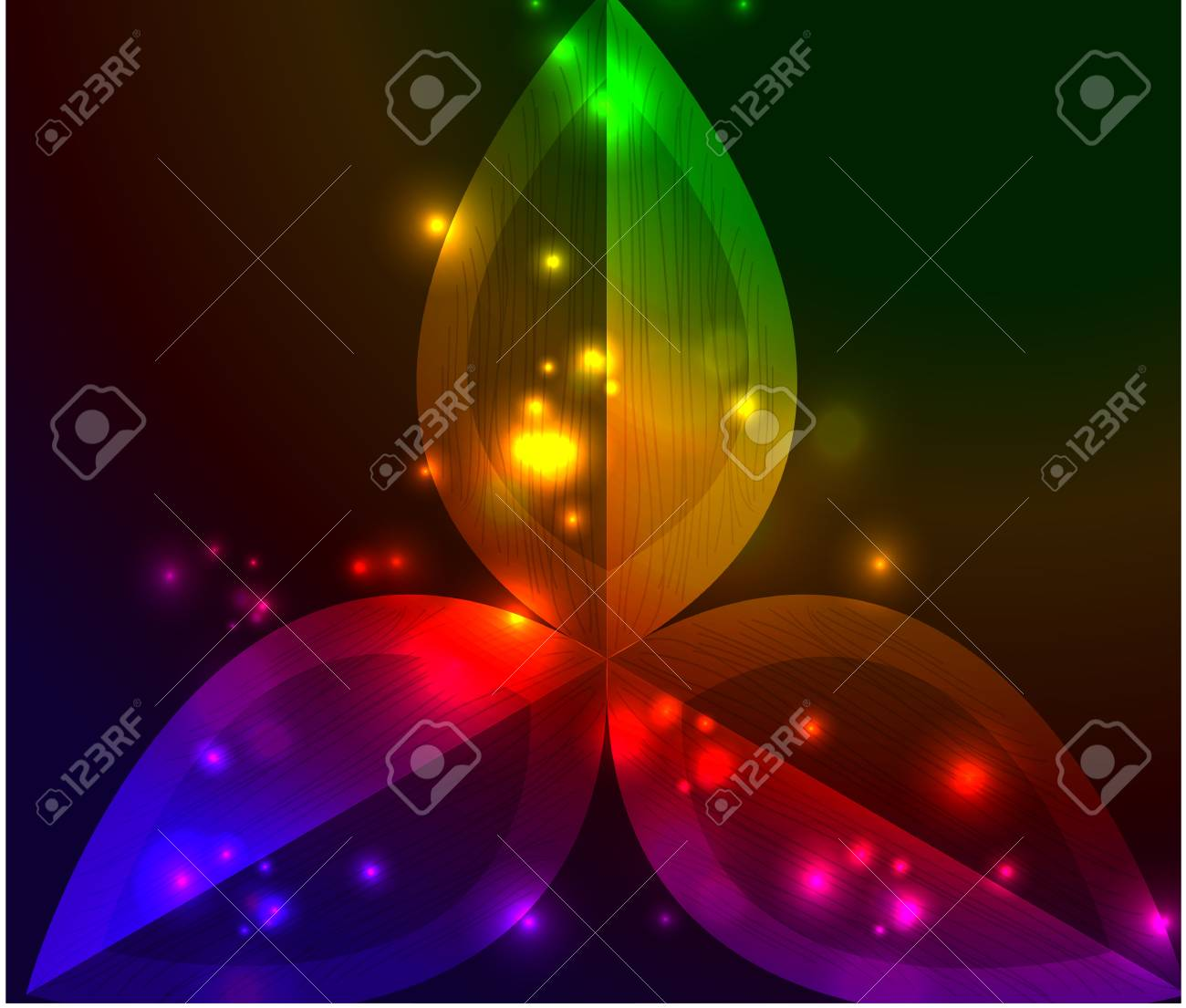 Vector abstract glowing background Stock Vector - 10475887