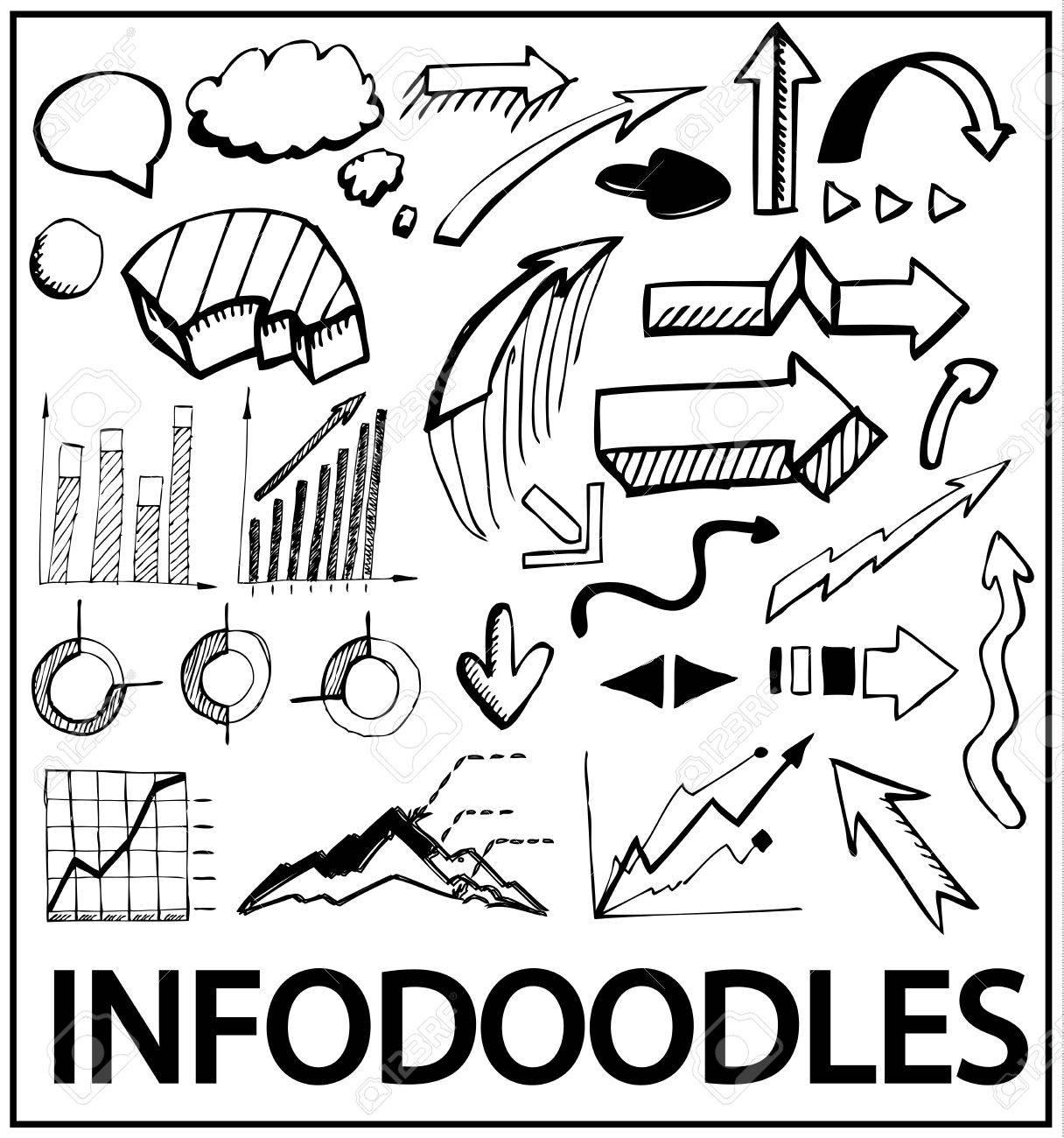 Hand drawn infographics Stock Vector - 11073871