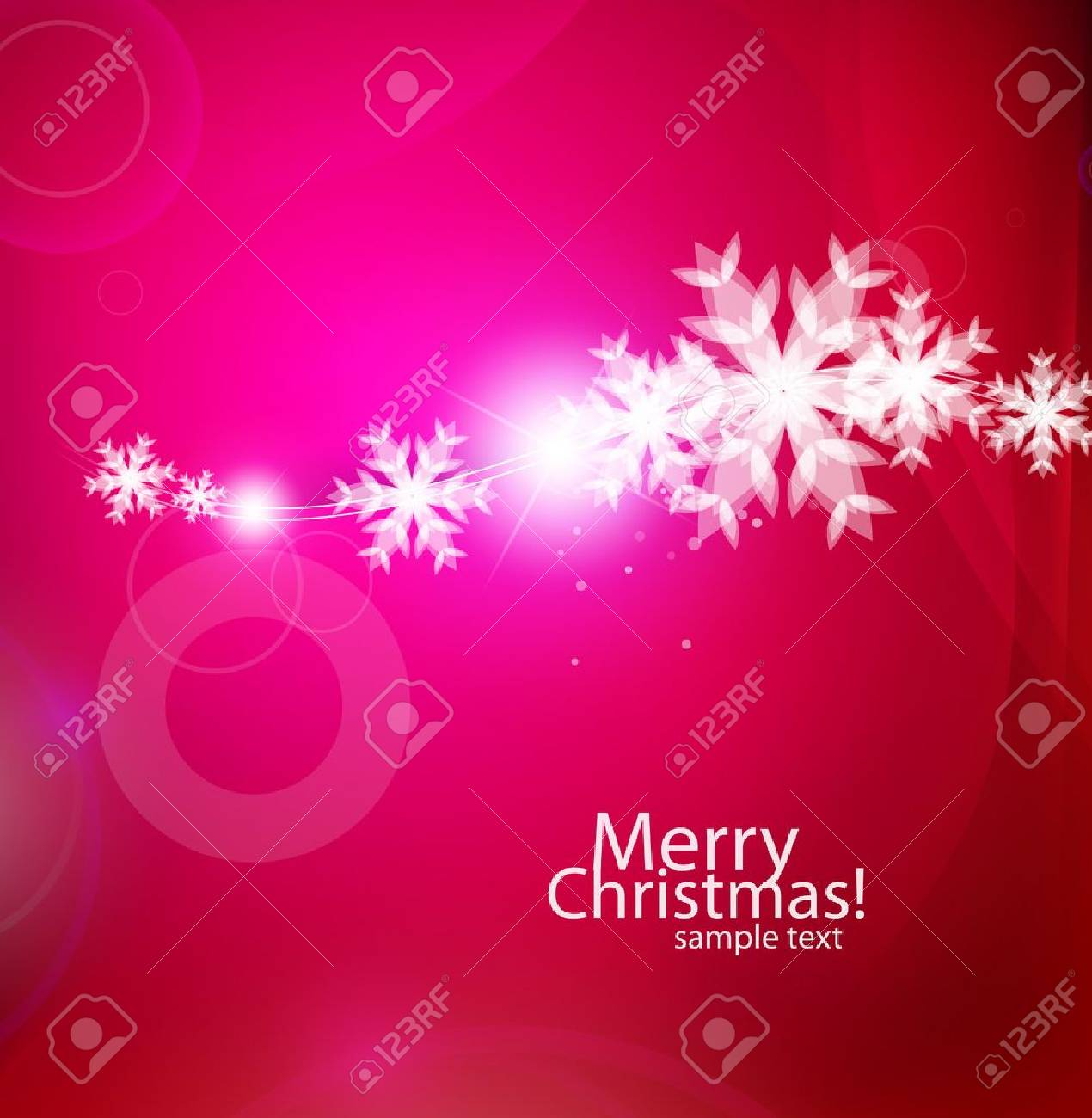 Vector violet Christmas card Stock Vector - 11073901