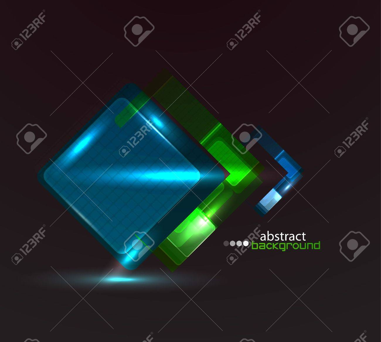 Techno abstract background Stock Photo - 11899914