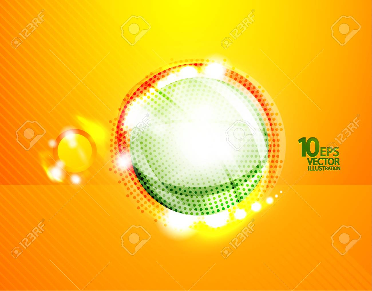 Hi-tech shiny techno bubble background Stock Vector - 12493182