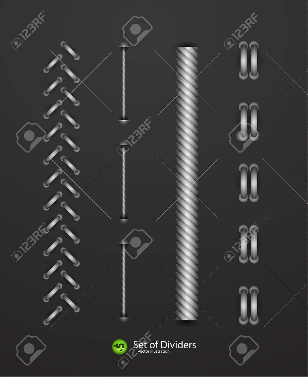dividers Stock Vector - 12493849