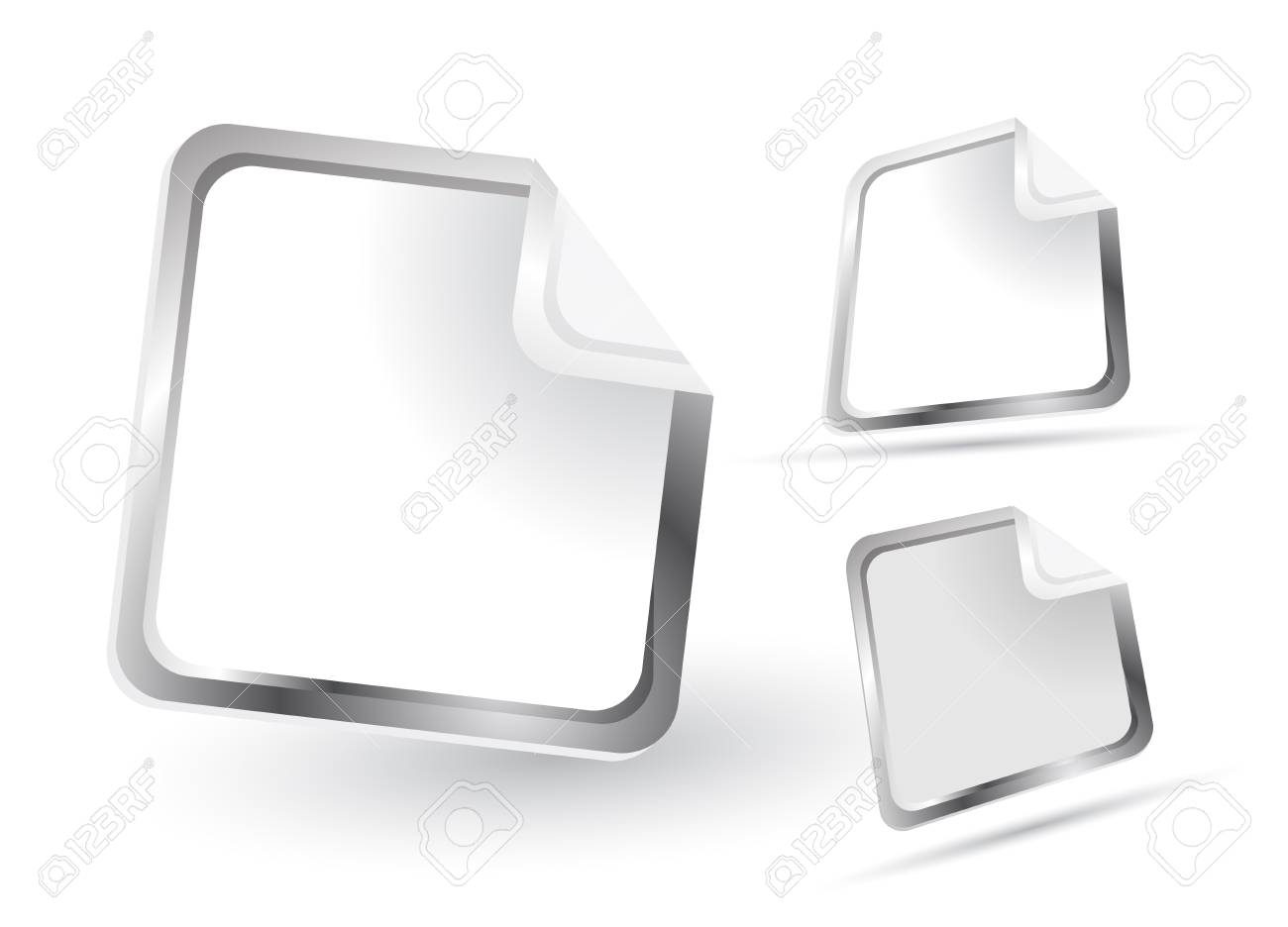 Vector glass buttons Stock Vector - 13229382