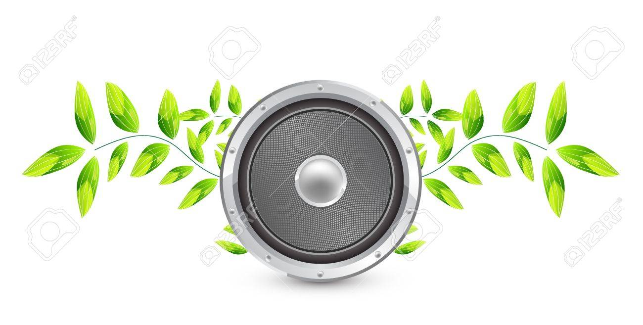 Vector natural speaker concept Stock Vector - 13314521