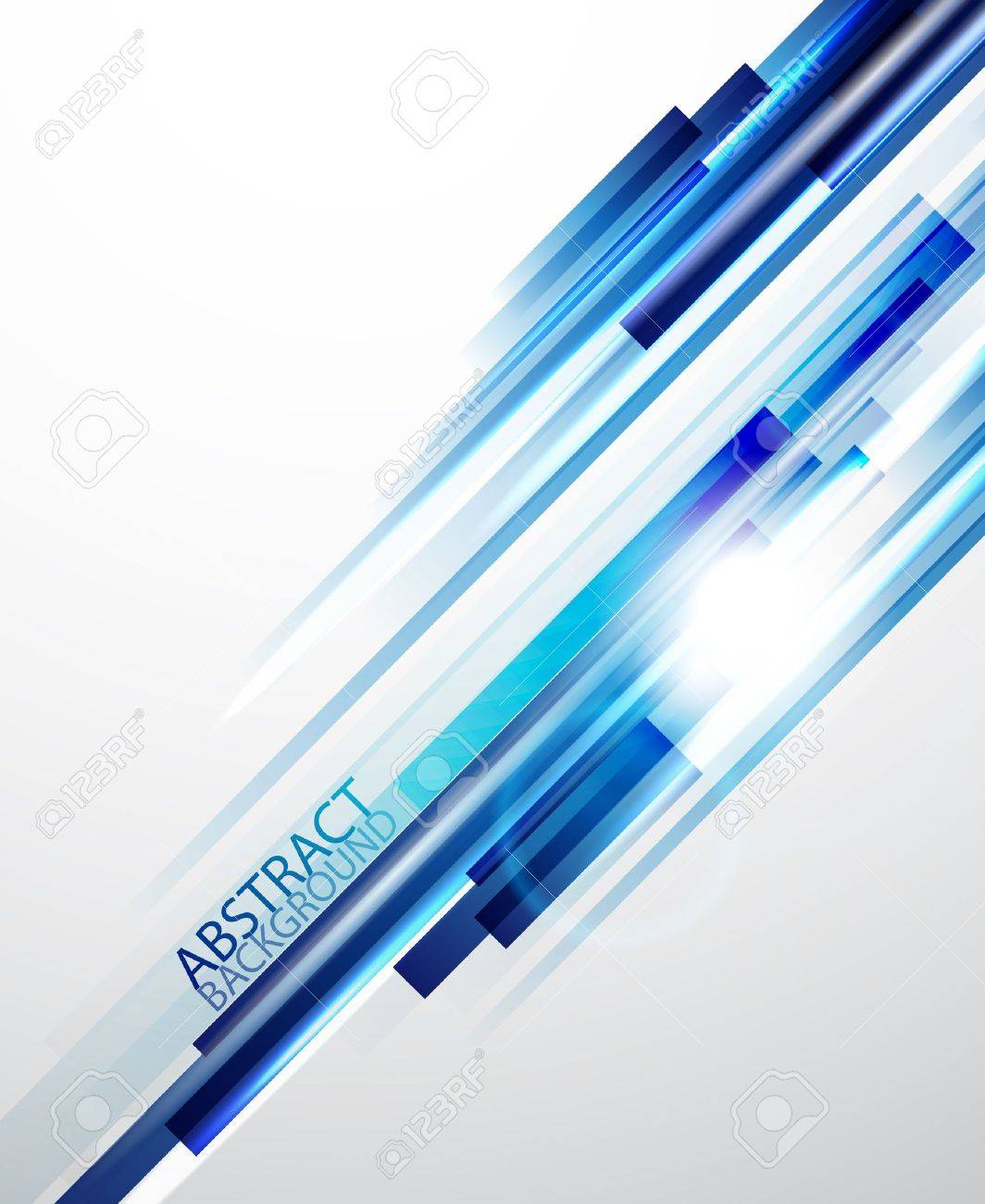 Straight blue lines background Stock Vector - 13400804