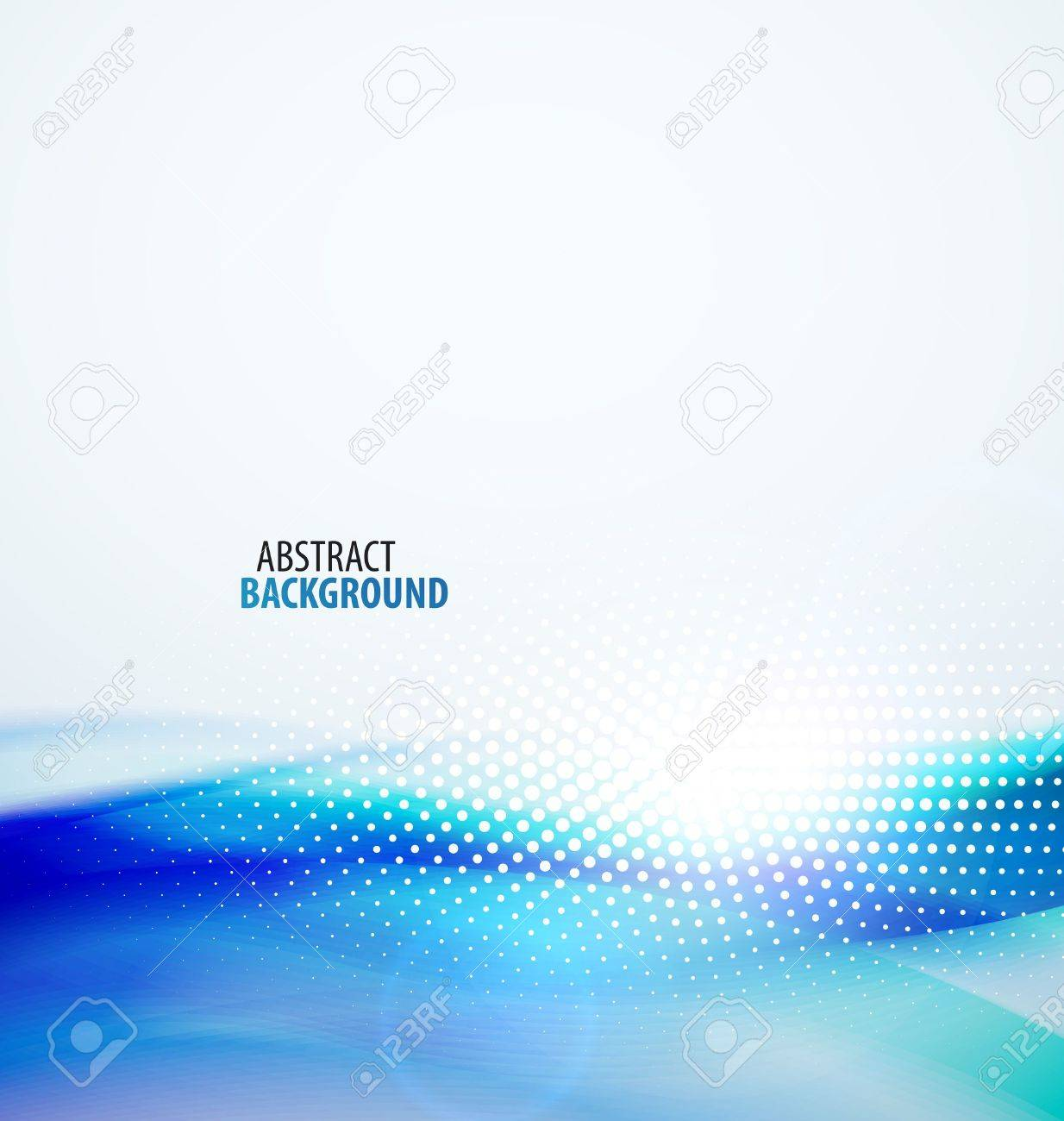 Abstract wave background Stock Vector - 13527164