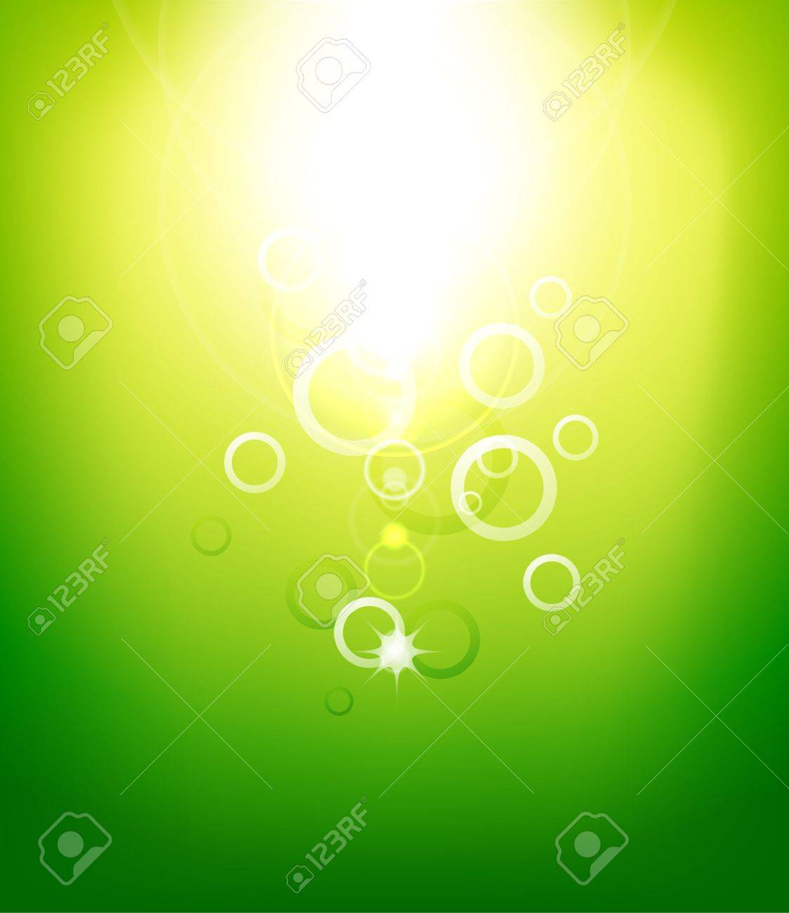 Abstract  sunshine background Stock Vector - 15089143