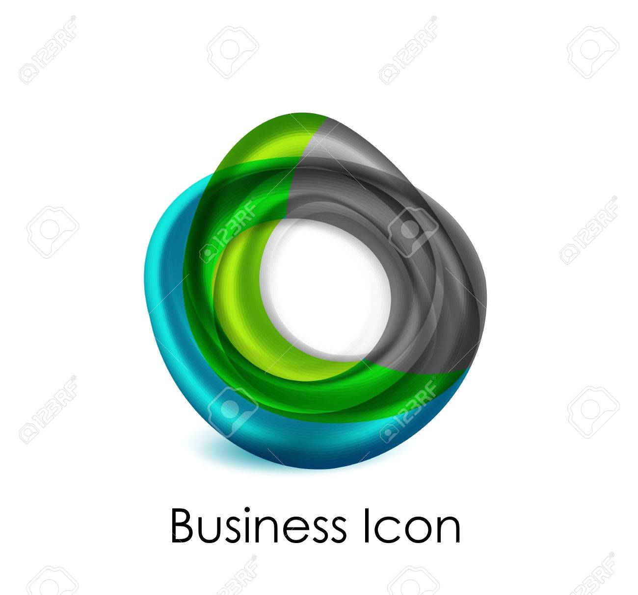 Abstract business icon Stock Vector - 16055359