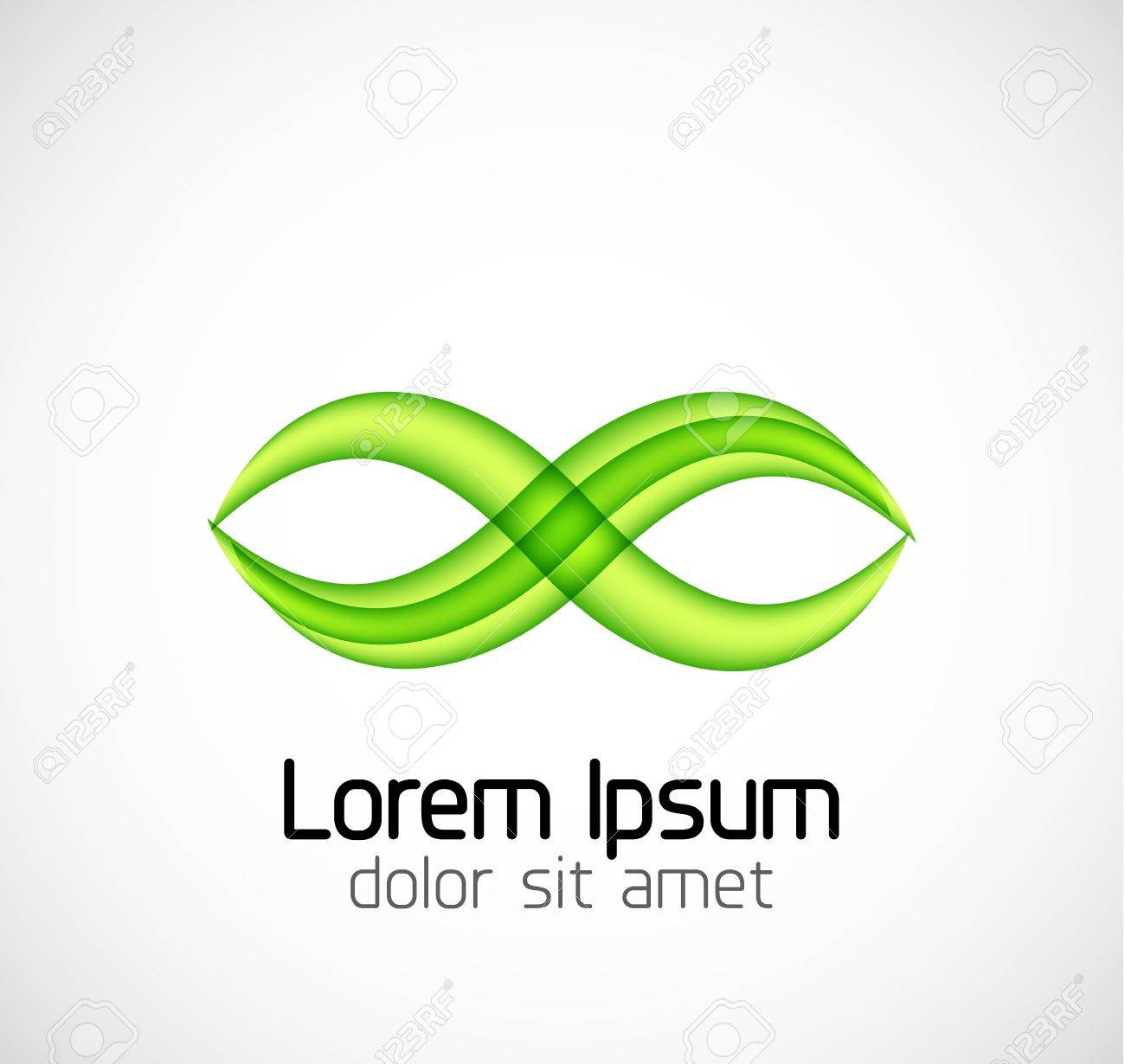 Abstract geometric business symbol Stock Vector - 18687545