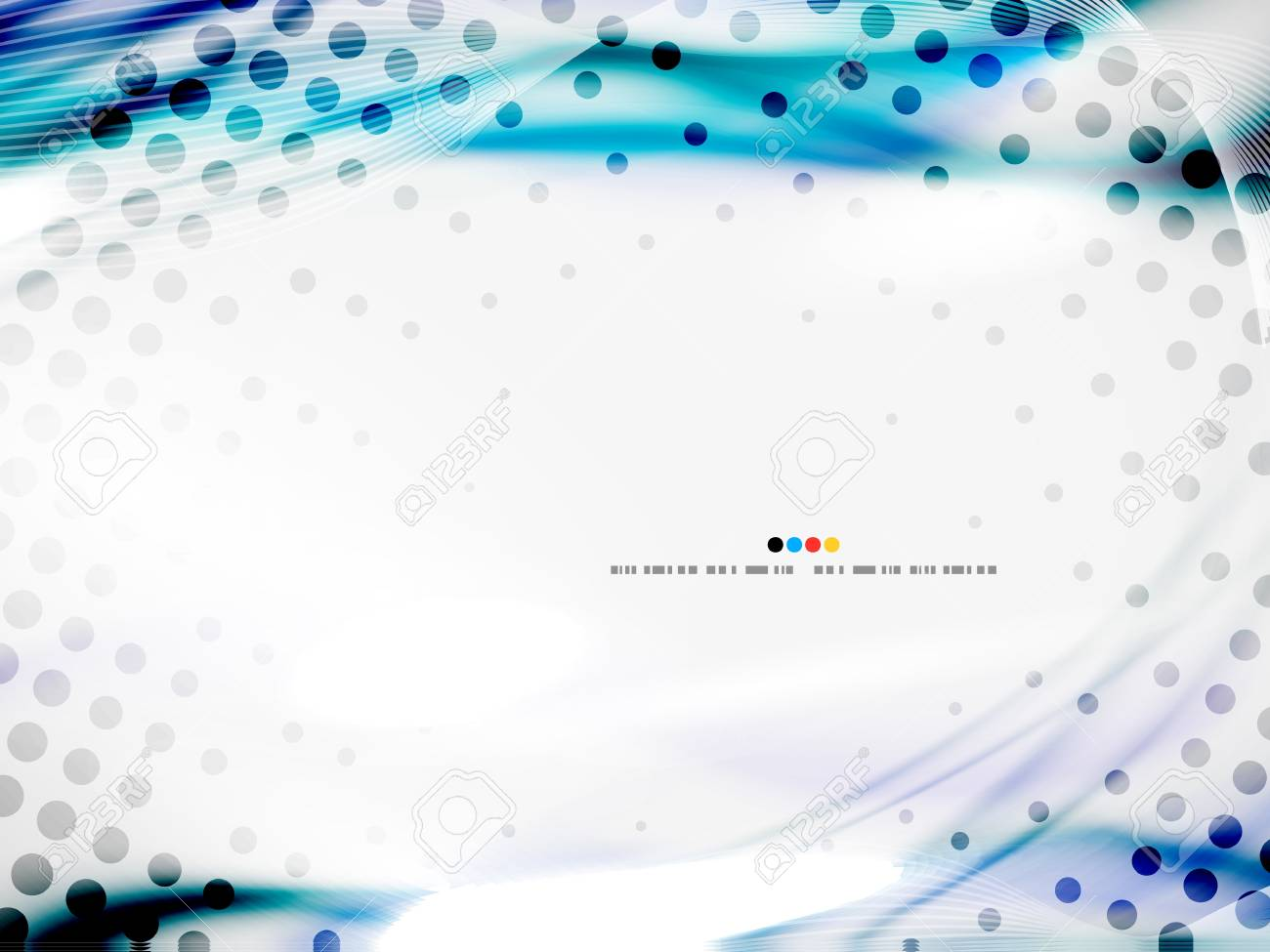 Wave abstract design template Stock Photo - 19561610