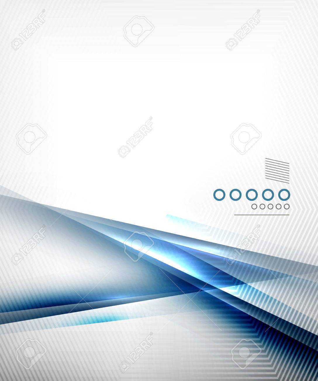 Blue vector blur motion lines business template for business, technology, presentation,layout template Stock Vector - 24377369