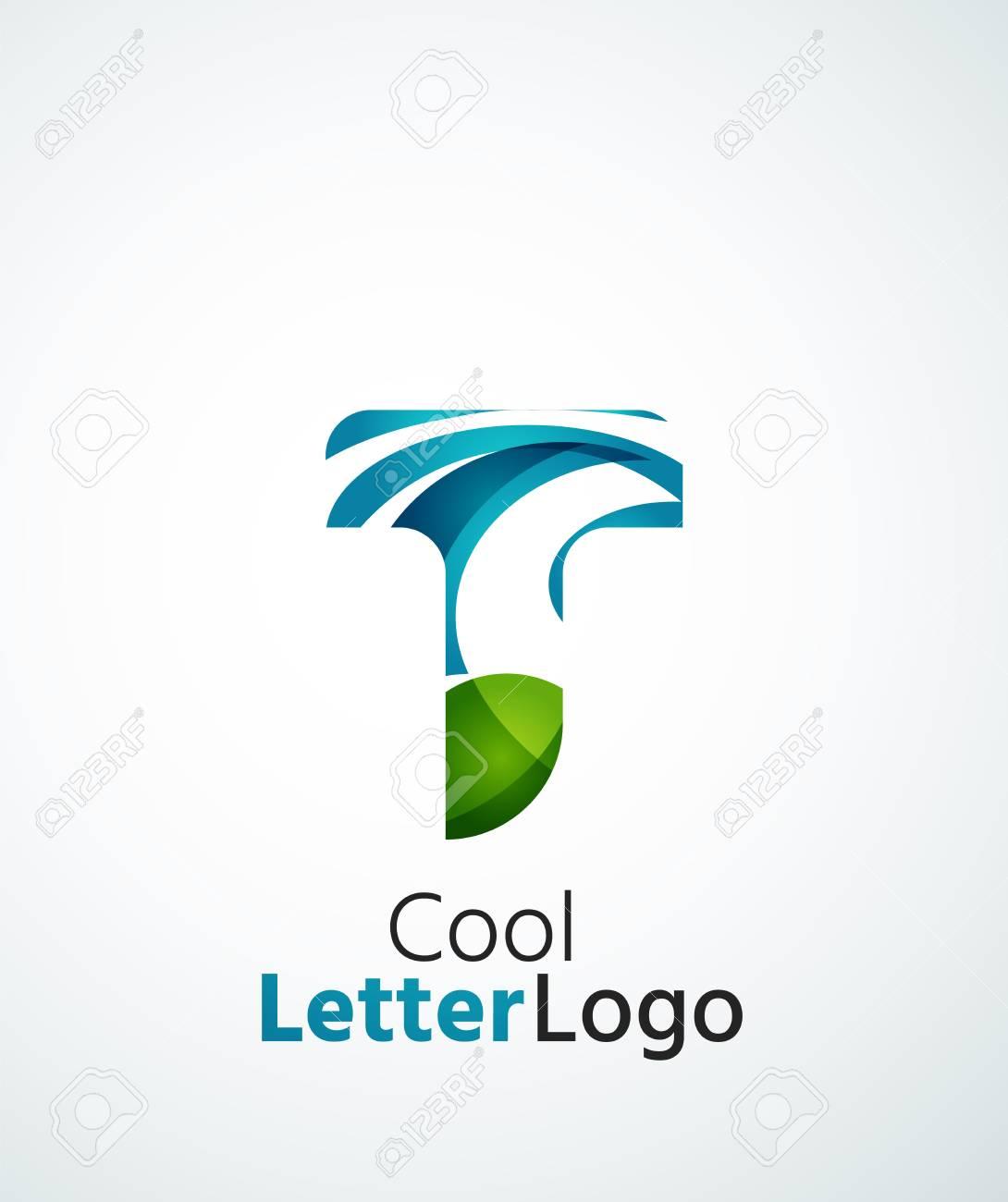 Ett vackert uppfriskande perspektiv på formge logotyp