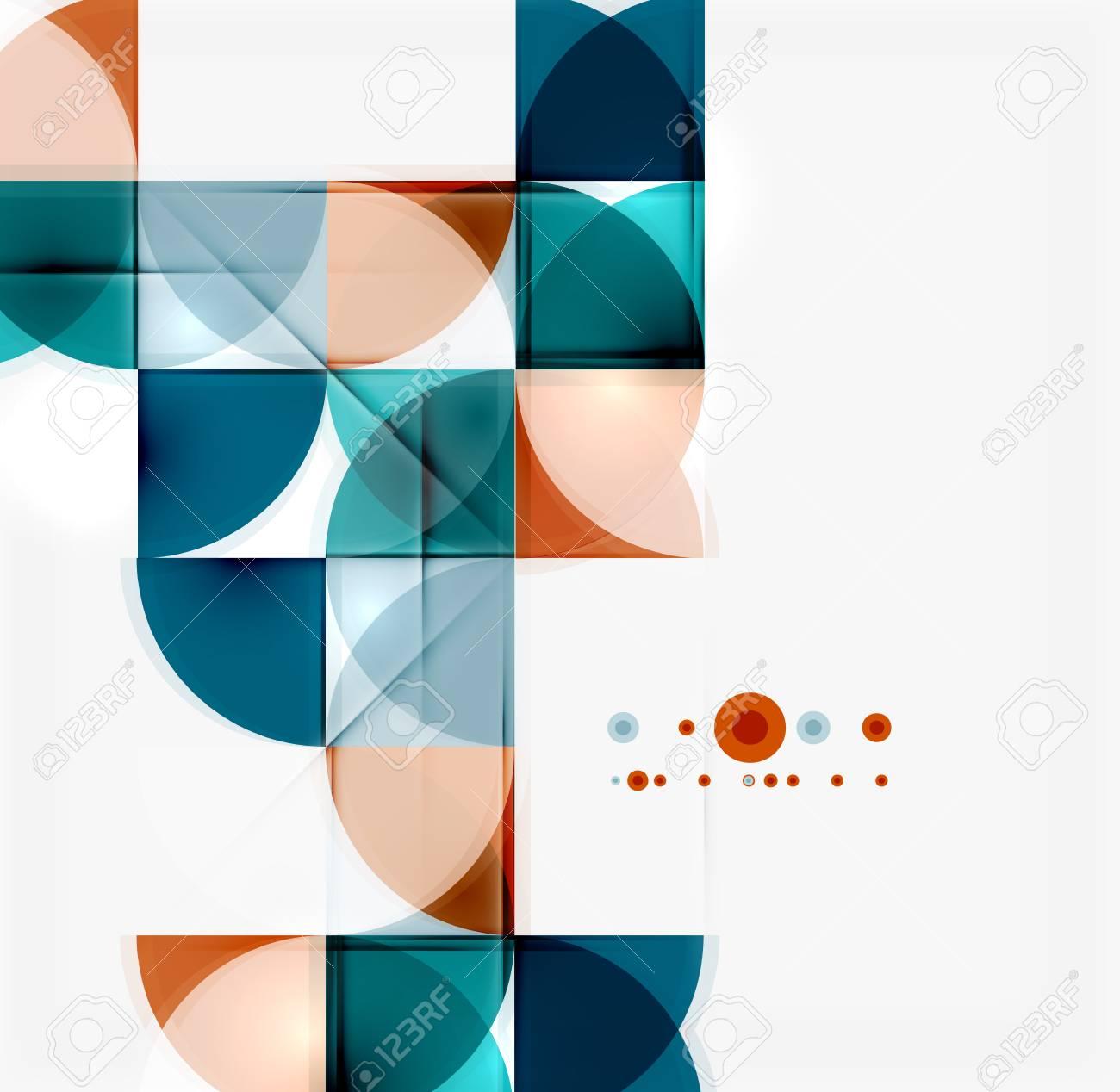 abstract mosaic background online presentation website element