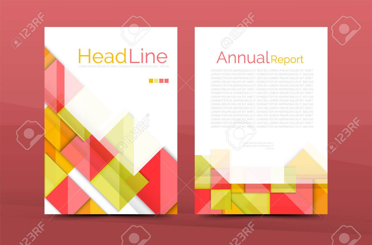 a4 front page business identity for annual report corporate a4 front page business identity for annual report corporate brochure leaflet and abstract geometric background