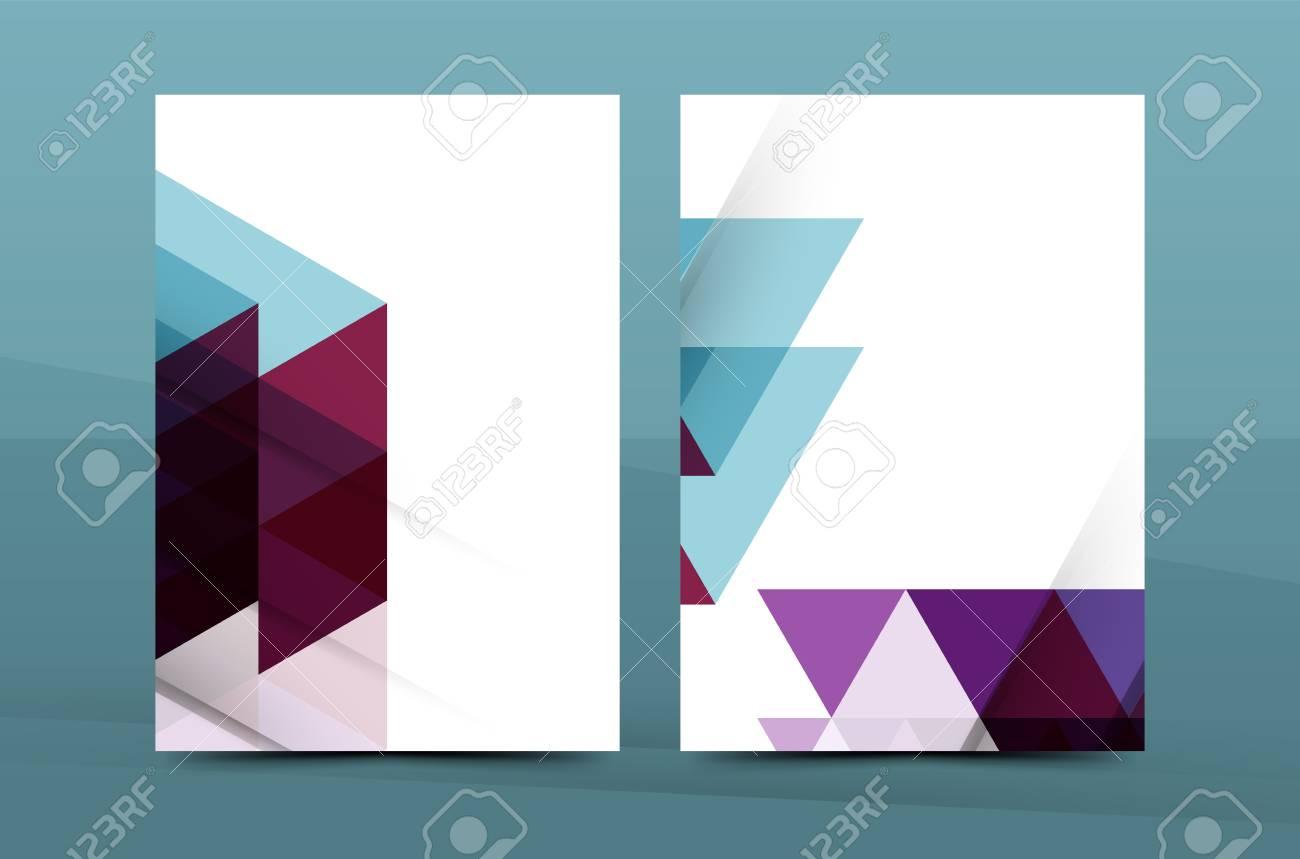 Diseño Del Mosaico Geométrico, Cubierta Carta De La Correspondencia ...