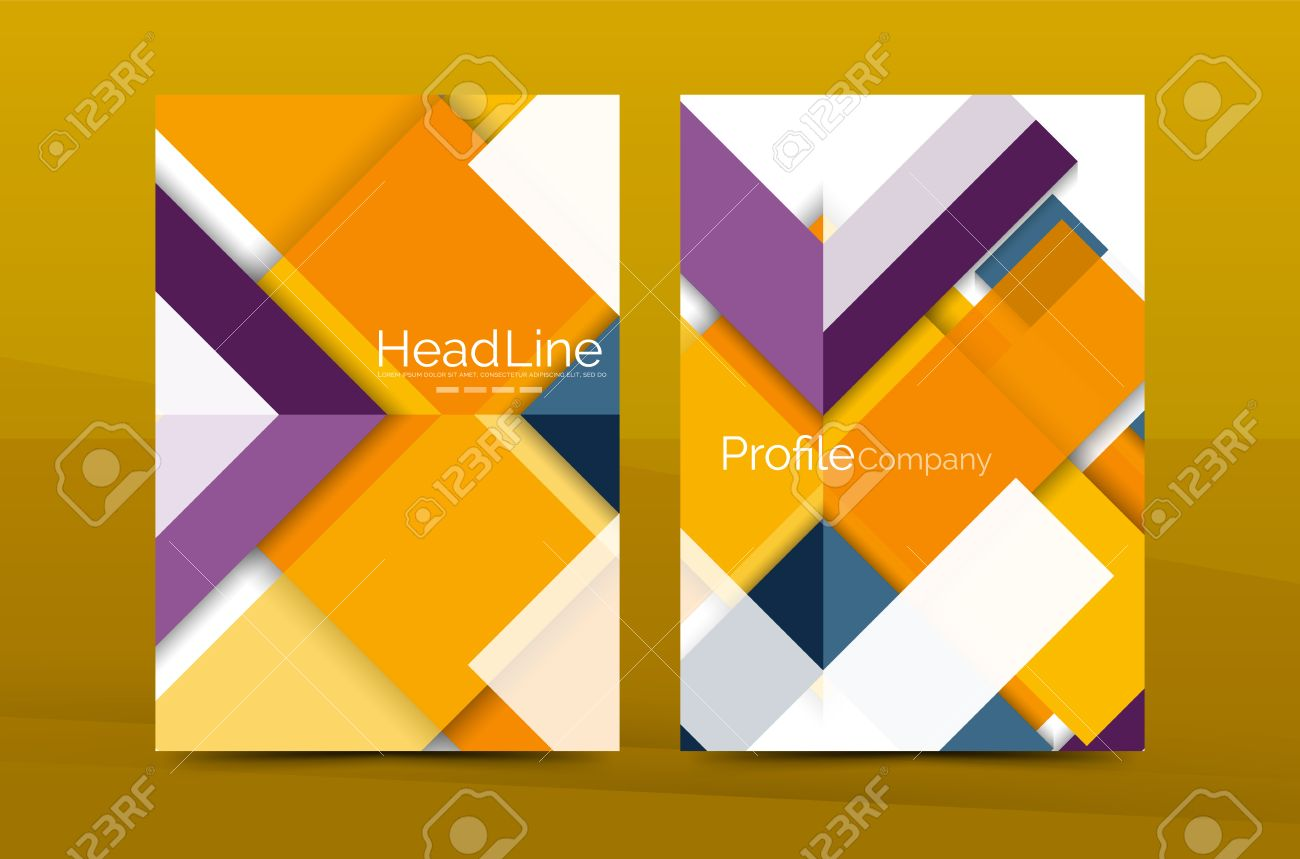 color business brochure cover vector template annual report color business brochure cover vector template annual report front page a4 size leaflet