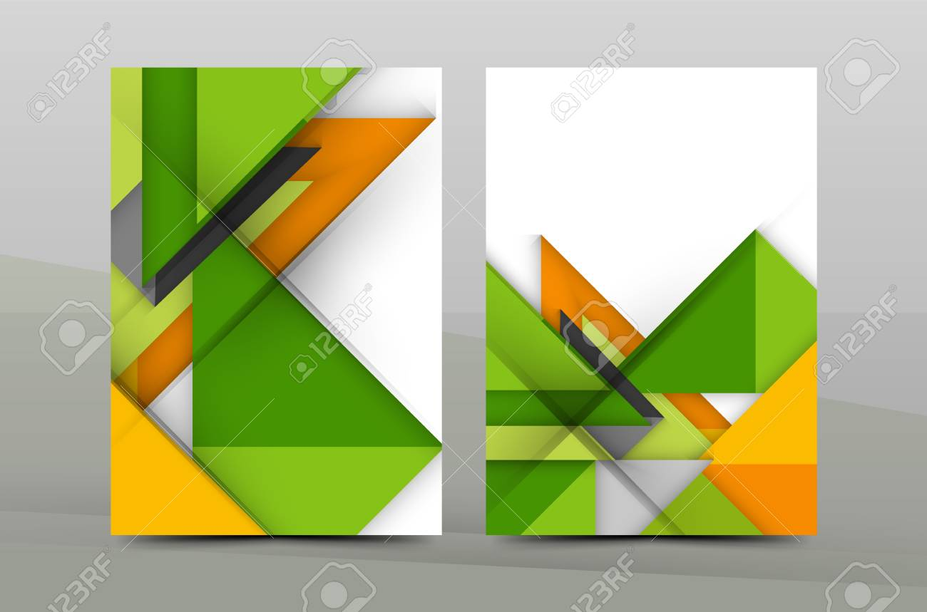 Geometric Abstract Background Color Business Brochure Cover Royalty Free Cliparts Vectors And Stock Illustration Image 60578849