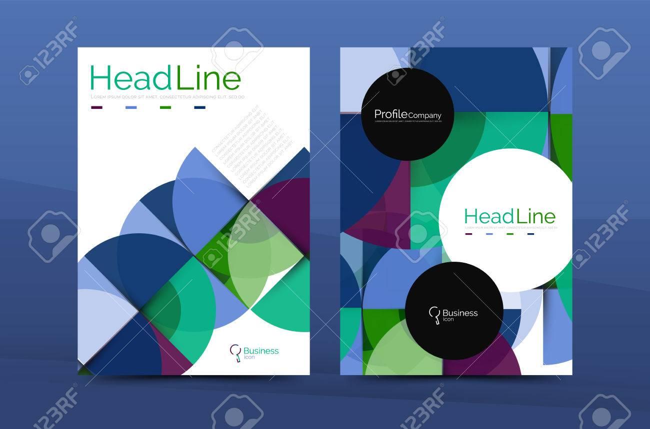 Business Company Profile Brochure Template Vector Corporate - Company profile brochure template