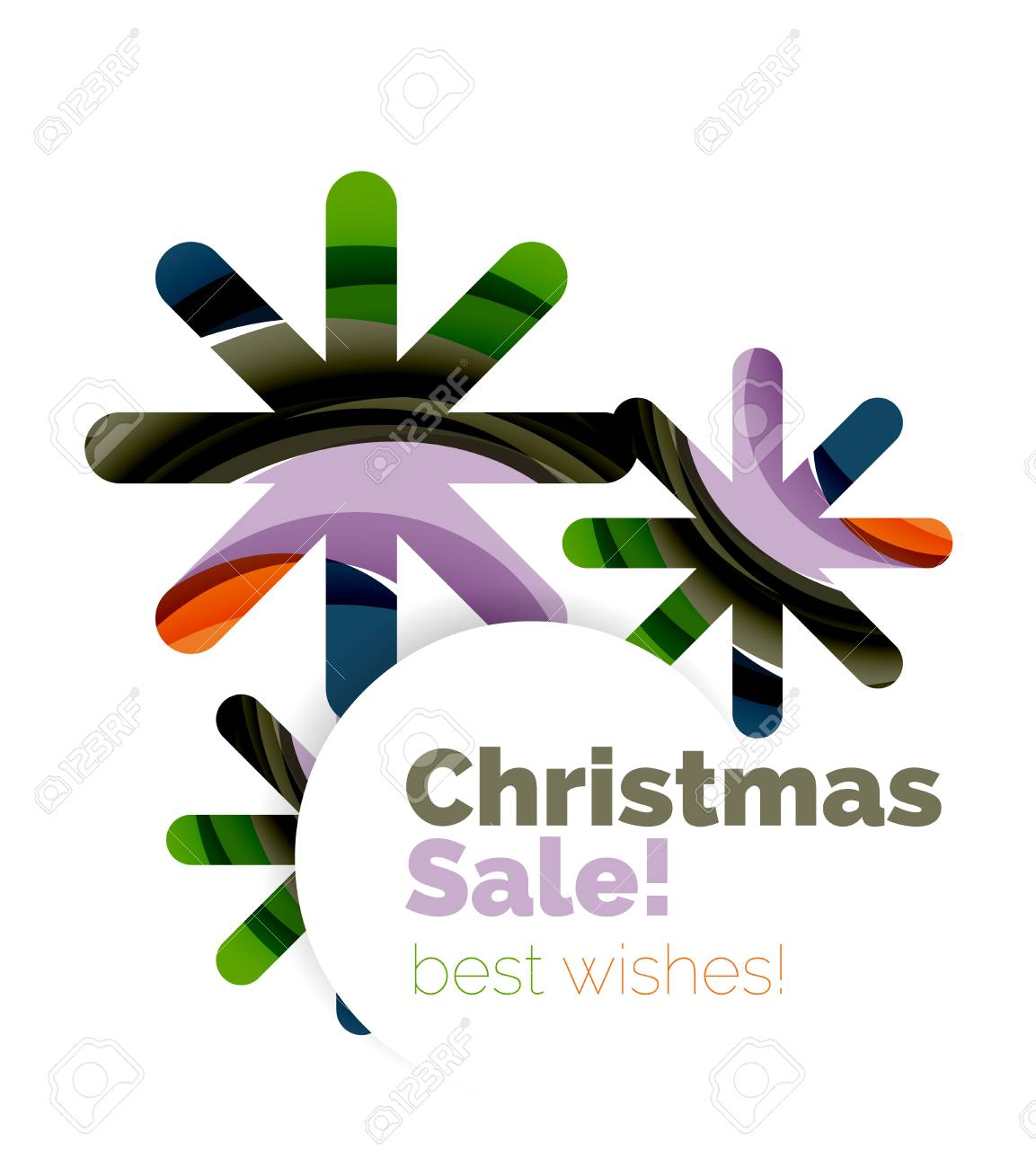christmas and new year sale banner vector illustration stock vector 66406219