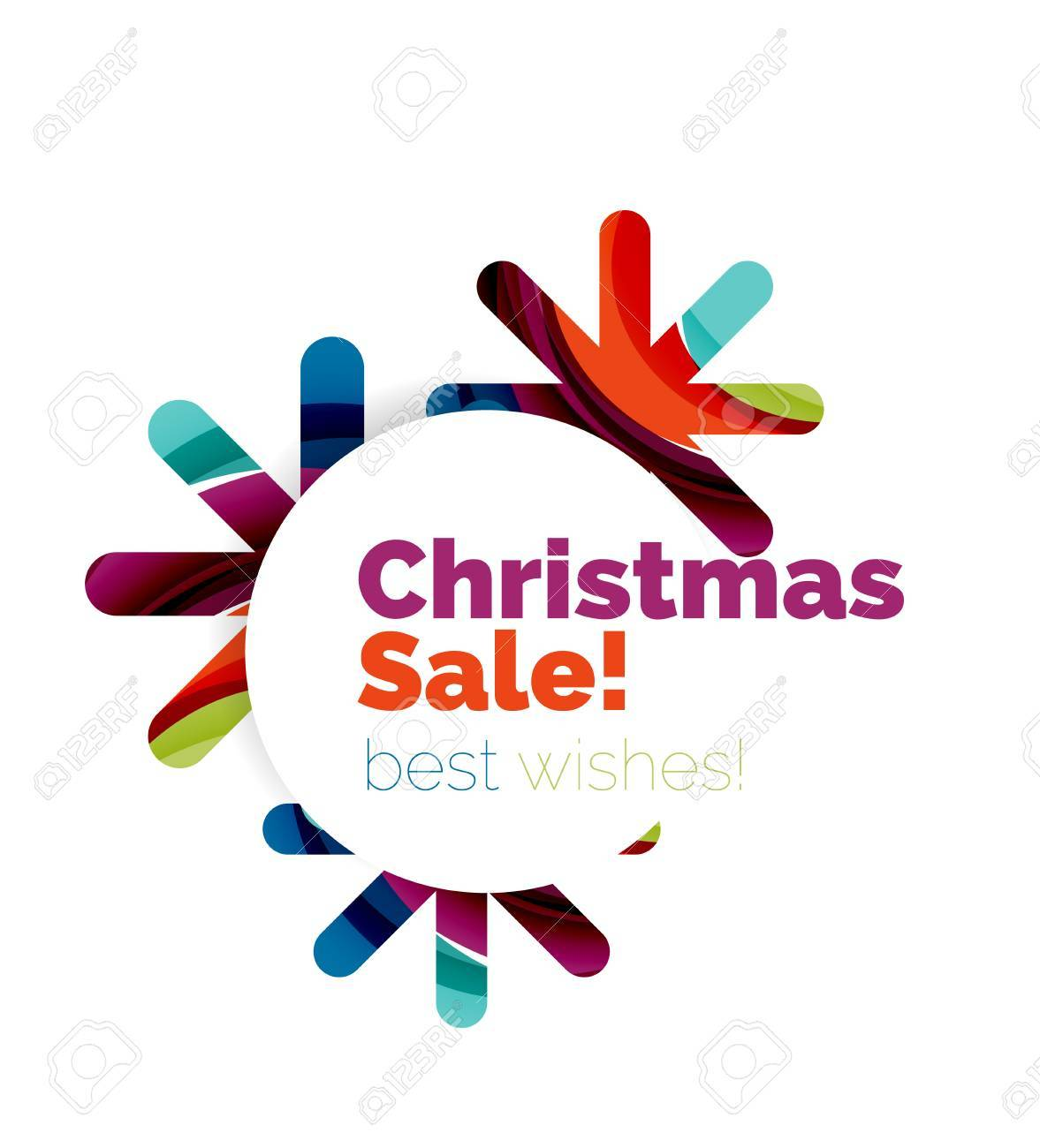 christmas and new year sale banner vector illustration stock vector 67383562